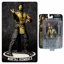 "Mortal Kombat X Scorpion 3 3/4"" Action Figure 3.75"" by Mezco Mortal Kombat 10"