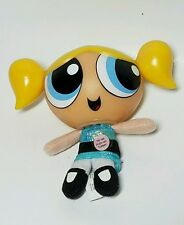 "2000 Trendmasters Powerpuff Girls Bubbles Talking 5"" Plush"