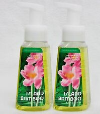 2 Bath & Body Works ISLAND BAMBOO Gentle Foaming Antibacterial Hand Soap