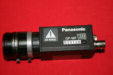 Panasonic Machine Vision B/W CCD Camera GP-MF130 with Fujinon 1:1.4/25mm lens