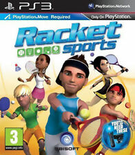Racket Sports - Move Compatible (PS3), Very Good Playstation 3, PlayStation 3 Vi