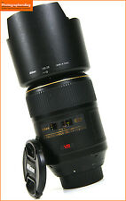 Nikon 105mm f2.8 G AF-S VR IF ED Micro NIKKOR Manual Focus Lens + GRATIS UK POST