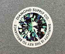 Diamond Supply Co Simplicity Is The Key Skateboard Sticker 3.5in si