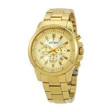 Citizen Urabn Champagne Dial Mens Chronograph Watch AN8082-54P
