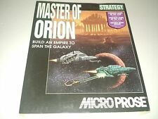 Master of Orion (PC, 1993) Complete in Box Microprose 3.5 disks SimTex Software