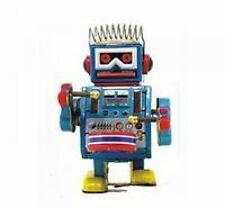 Trommelnder Robot Juguete De Hojalata