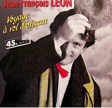 ++JEAN-FRANÇOIS LEON voyage à vol d'oiseau (2 versions) MAXI PROMO 1984 CBS NM++