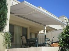 Luxury Retractable Folding Arm Awning 5.0m x 3.0m Full Cassette Motorised