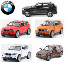 1:32 BMW X3 SUV Diecast Model Car Kid Metal Alloy Pull Back Collection Decor Toy