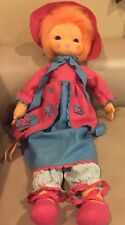 "Vintage Lenci Italy 25"" Soft Felt Bed Doll With Hangtag"