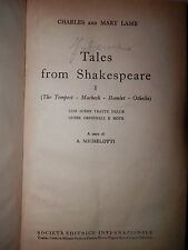 TALES FROM SHAKESPEARE VOL I THE TEMPEST MACBETH HAMLET OTHELLO Lamb Michelotti