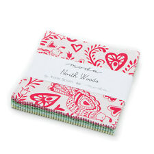 """Moda Charm Pack - North Woods - 42 x 5"""" squares"""
