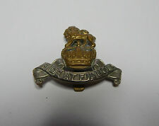 Post war Royal Army Pay Corps Cap Badge Queens crown  Genuine issue.