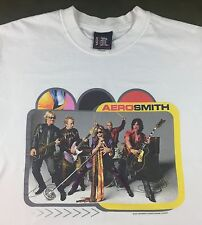 Adult Unisex 2001 Aerosmith Rock Band Concert Tour Steven Tyler Graphic T-Shirt