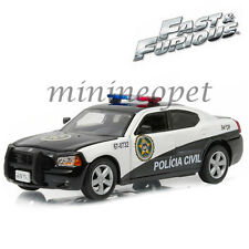 GREENLIGHT 86237 FAST AND FURIOUS 5 2006 DODGE CHARGER RIO POLICE CAR 1/43