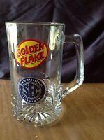 Vintage Glass Golden Flake 20 oz SEC Men's Basketball Nashville  Beer Mug Stein