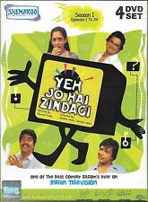 Yeh Jo Hai Zindagi - Stagione 1, 2 & 3 - Set di 11 DVD - 67 Episodi TV Serial