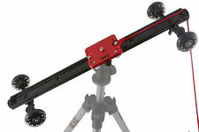 "SD-1 Mark II Camera Video Slider Dolly w/wheel Stabilizer FREE 11"" Friction Arm"