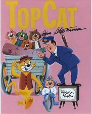 TOP CAT signed John Stephenson and Marvin Kaplan voices photo Hanna Barbera RARE