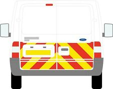 Ford Transit van Chapter 8 / Reflective Rear 1/2 Chevron Graphic kit  decal