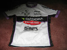 "DIADORA PASTA ZARA UCI WOMANS TEAM ZARA SPORT ITALIAN CYCLING JERSEY 36"" UNUSED"