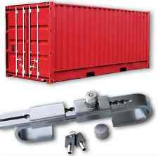 HARDENED STEEL SHIPPING CONTAINER STORAGE SECURITY LOCK ADJUSTABLE DOOR PADLOCK