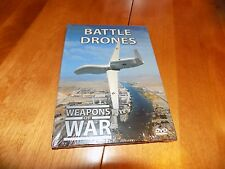 WEAPONS OF WAR BATTLE DRONES War Air Force Drone Warfare Aerial Military DVD NEW