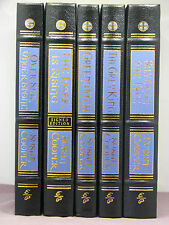 5 vols, each signed, The Dark is Rising Sequence by Susan Cooper, Easton Press