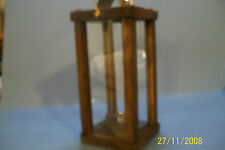 civil war reenactors wooden candle lantern(with lift)