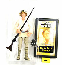 Loose Luke Skywalker with Flashback Photo  Star Wars The Power of the Force