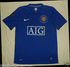 Manchester Utd / WILKINS #8 - 2008-2009 3rd - NIKE - MENS Shirt / Jersey. Size M