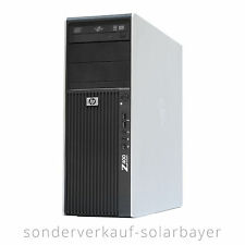 HP Z400 Workstation PC Xeon W3520 QuadCore 8GB RAM 160GB SSD ATI FireGL V7700 W7