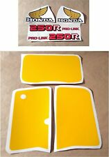 Stickers / Decals Honda XR250R - XRR 250 (84)