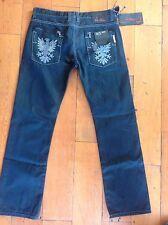 Jeans da Uomo NO jodas chasco 36 Girovita 33 interno gamba blu £ 20.00 DJ