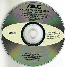 ASUS CUV4X Motherboard Drivers Installation Disk M166