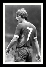 KENNY DALGLISH - LIVERPOOL AUTOGRAPHED SIGNED & FRAMED PP POSTER PHOTO