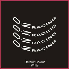 "Oz Racing Wheel Decals 17"" X8,Vinyl, Sticker, Graphics,Car, Wheels, N2082"