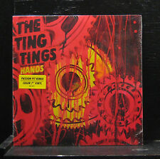 "The Ting Tings - Hands / Passion Pit Remix 7"" NEW Orange Vinyl 2010 886978067876"