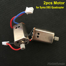 2pcs Motor Engine for Syma X8G X8HG Quadcopter RC Drone Spare Parts Replacement