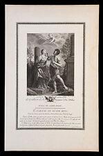 incisione 1700 S.APOLLONIA V.M.