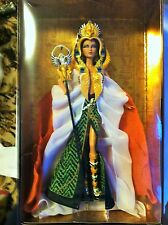Brand new 2010 Barbie Doll Cleopatra NRFB Gold Label Designed by Linda Kyaw