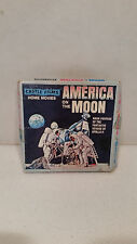 Vintage Castle Films 8mm America on the Moon FIlm - Cool!