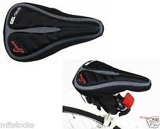 Brisky Bicycle Bike Cycling Seat Cover Saddle Cover Soft Gel Cushion Pad