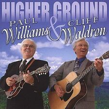 """PAUL WILLIAMS & CLIFF WALDRON, CD """"HIGHER GROUND"""" NEW SEALED"""