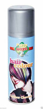 NEW COLORED HAIR SPRAY HAIRSPRAY DYE COMIC RELIEF WASH OUT FANCY DRESS 125ML
