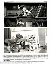 1996 VINTAGE PHOTO STILL OSCAR NOMINATED MOVIE TOY STORY WOODY BUZZ LIGHTYEAR