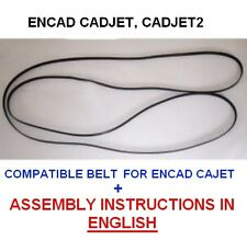 "encad cadjet, cadjet 2 plotter belt size A0 36"" + INSTALLATION GUIDE IN ENGLISH"