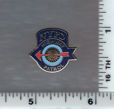 New York City Police HIGHWAY PATROL Tie-Tac/Lapel-Pin (this is a novelty item)