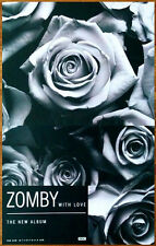 ZOMBY With Love 2013 Ltd Ed New RARE Poster +FREE Dance/Indie/House/Rock Poster!