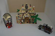 Lego Set #5988, Pharaoh's Forbidden Ruins, Produced In 1998